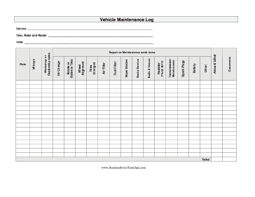 Book of woodworking machine maintenance schedule in for Equipment log book template