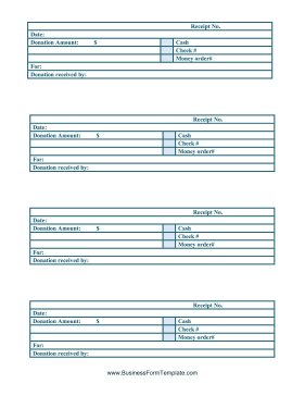 cash receipts these printable cash receipts are designed for donations ...