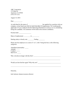 trade reference letter template .